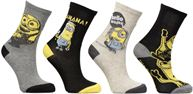 Calze e collant Accessori Chaussettes Minions Lot de 4