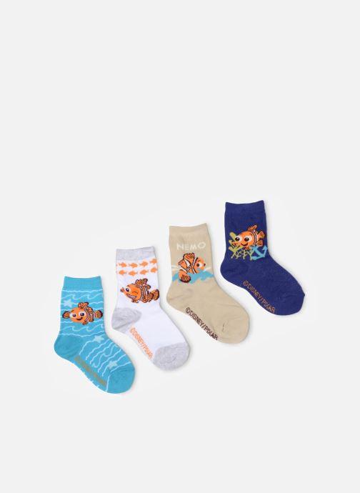 Strømper og tights Disney Chaussettes Nemo Lot de 4 Blå detaljeret billede af skoene