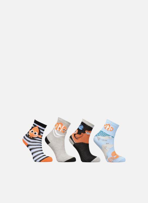 Sokken en panty's Disney Chaussettes Nemo Lot de 4 Grijs detail