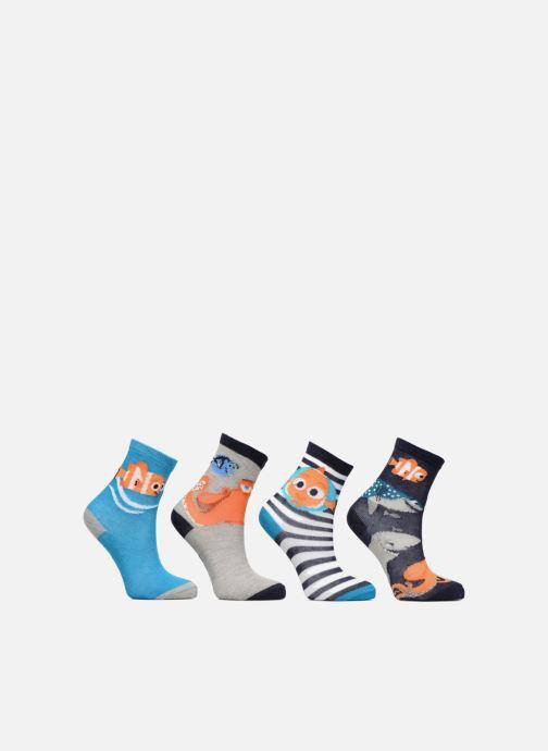 Chaussettes et collants Disney Chaussettes Nemo Lot de 4 Bleu vue détail/paire
