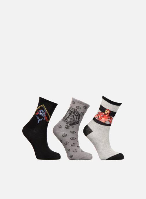 Socks & tights Disney Avengers Lot de 3 Grey detailed view/ Pair view