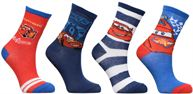 Calze e collant Accessori Chaussettes Cars Lot de 4