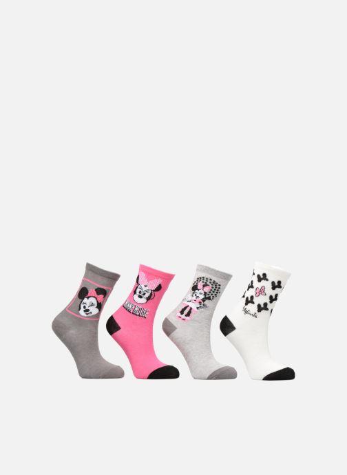 Sokken en panty's Disney Chaussettes Minnie Lot de 4 Grijs detail