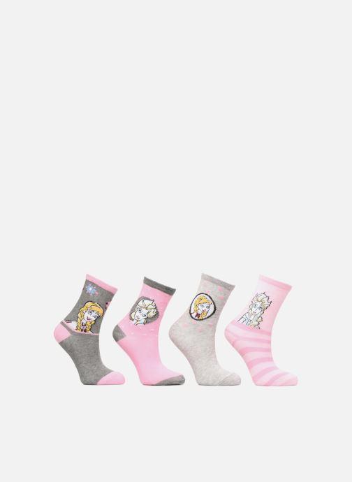 Sokken en panty's Disney Chaussettes Frozen Lot de 4 Multicolor detail