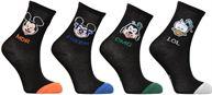 Chaussettes et collants Accessoires Chaussettes Emoji Mickey-Donald-Dingo Lot de 4