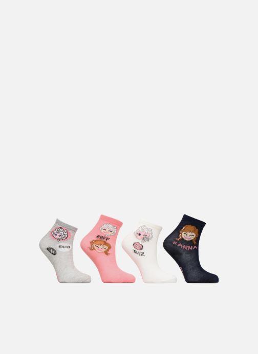 Calze e collant Disney Chaussettes Emoji Frozen Lot de 4 Rosa vedi dettaglio/paio