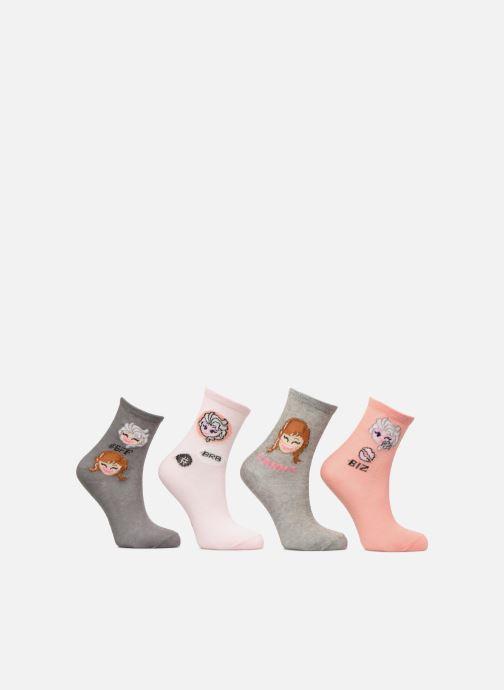 Sokken en panty's Disney Chaussettes Emoji Frozen Lot de 4 Multicolor detail