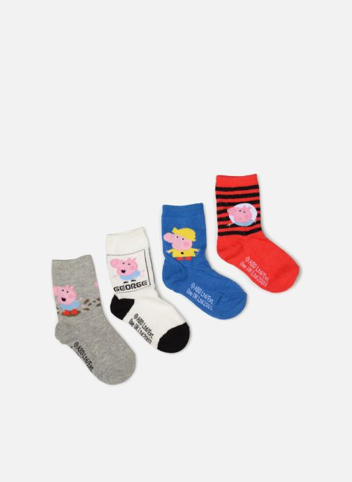 Sokken en panty's Disney Chaussettes Pepa Pig Lot de 4 Rood detail