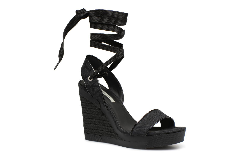Calvin Klein Sandals Jeans RE9672 (Black) - Sandals Klein chez (341073) aec8bc