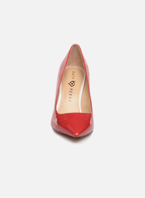Escarpins Katy Perry The Memphis Rouge vue portées chaussures