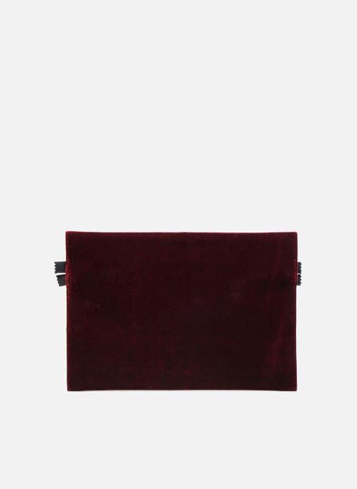Sacs pochettes MM6 Martin Margiela S41UM0012 Bordeaux vue face