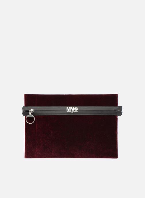 Sacs pochettes MM6 Martin Margiela S41UM0012 Bordeaux vue détail/paire