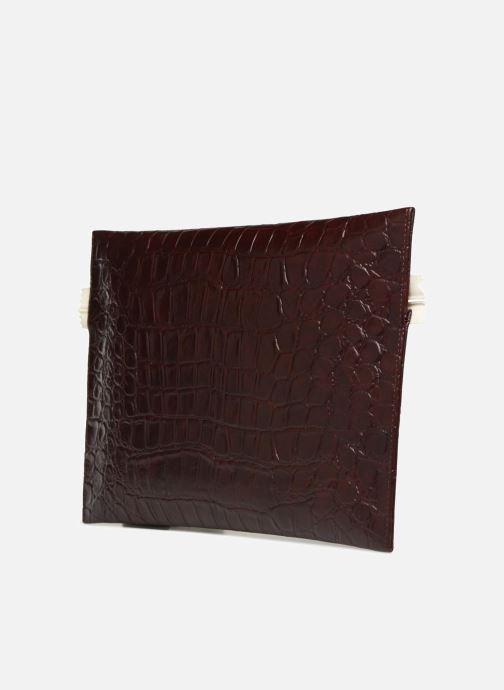 Sacs pochettes MM6 Martin Margiela S41UM0012 Violet vue droite