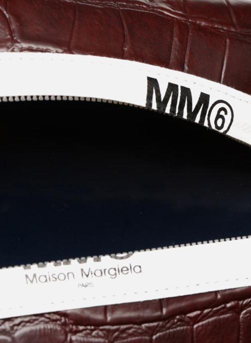 Sacs pochettes MM6 Martin Margiela S41UM0012 Violet vue derrière