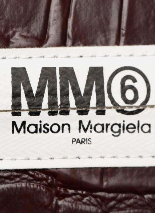 Sacs pochettes MM6 Martin Margiela S41UM0012 Violet vue gauche