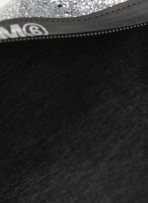 Sacs pochettes MM6 Martin Margiela S41UM0012 Argent vue derrière