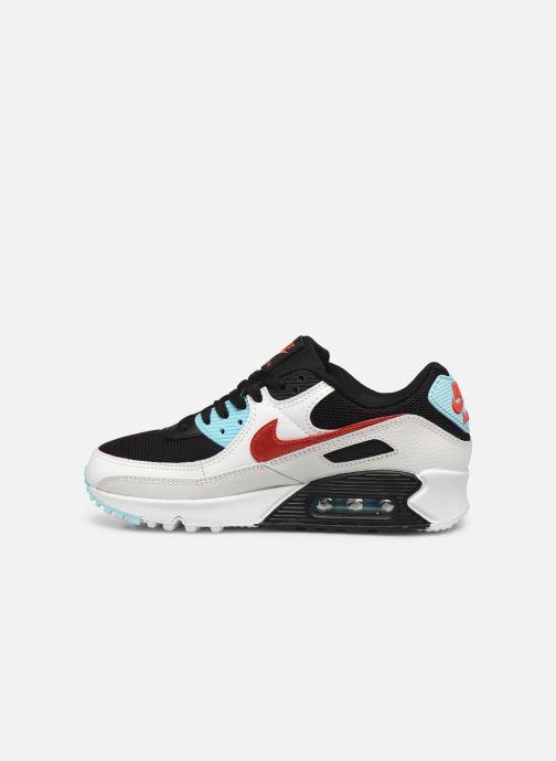 Sneaker Nike Wmns Nike Air Max 90 weiß ansicht von vorne