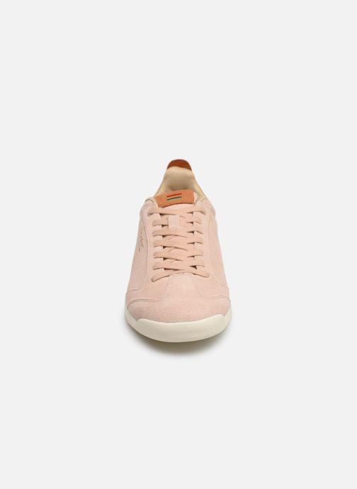 Baskets Kickers KICK 18 WN Rose vue portées chaussures