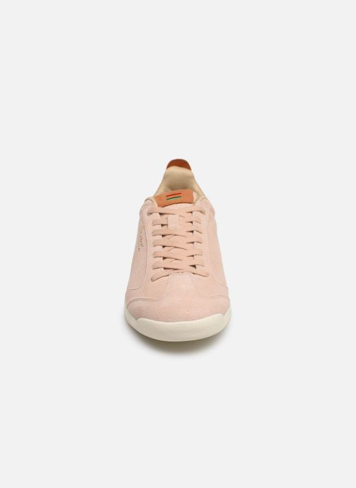 Sneakers Kickers KICK 18 WN Rosa modello indossato