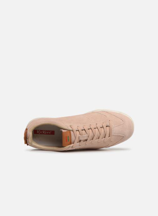 Sneaker Kickers KICK 18 WN rosa ansicht von links