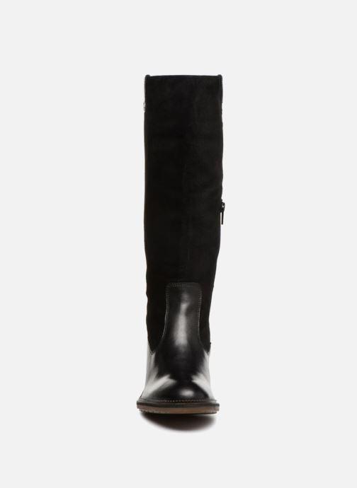 Bottes Kickers PIONLONG Noir vue portées chaussures