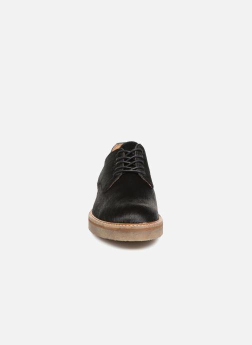 Zapatos con cordones Kickers OXFORKPONY Negro vista del modelo