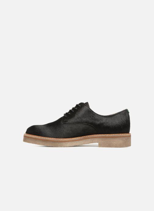 Zapatos con cordones Kickers OXFORKPONY Negro vista de frente
