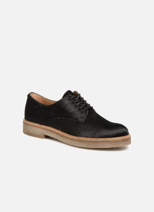 Zapatos con cordones Kickers OXFORKPONY Negro vista de detalle / par