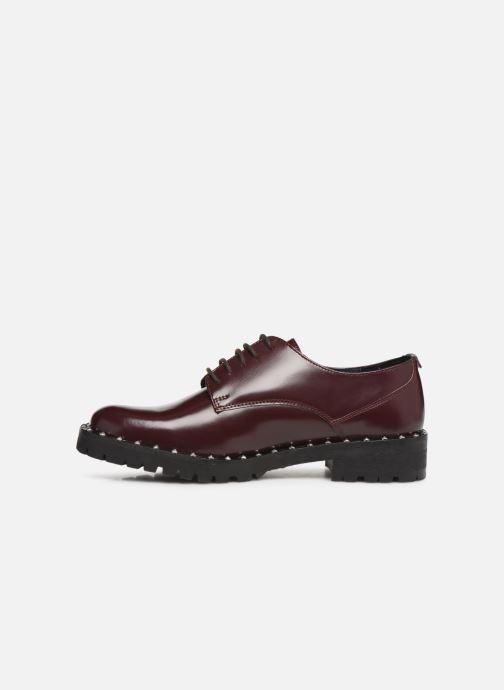 Chaussures à lacets Kickers ROLLIE Bordeaux vue face