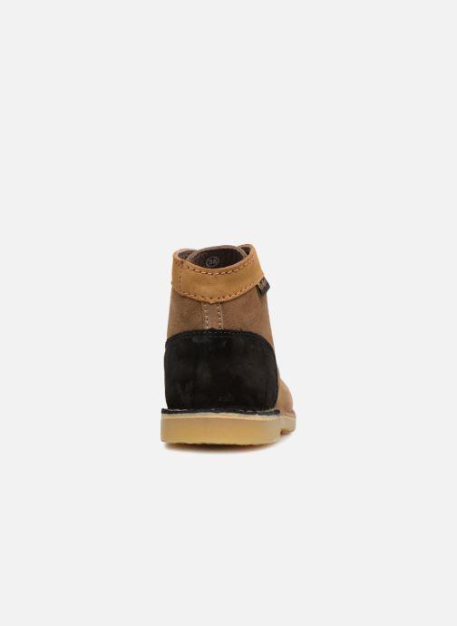 Bottines et boots Kickers ORILEGEND F MULTI Marron vue droite
