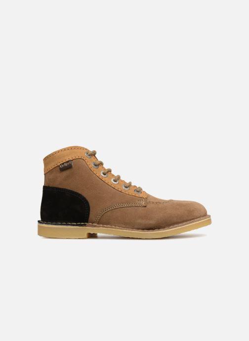 Bottines et boots Kickers ORILEGEND F MULTI Marron vue derrière