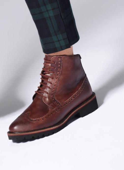Bottines et boots Kickers RUMBA Marron vue bas / vue portée sac
