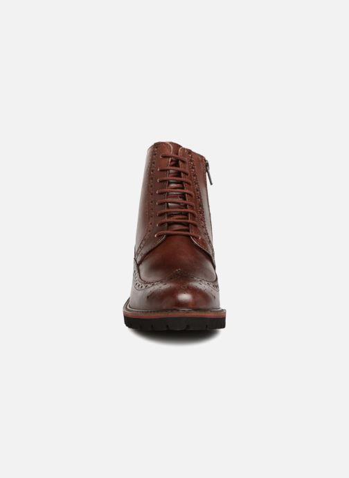 Bottines et boots Kickers RUMBA Marron vue portées chaussures