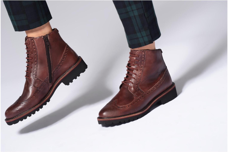 Boots en enkellaarsjes Kickers RUMBA Bruin onder