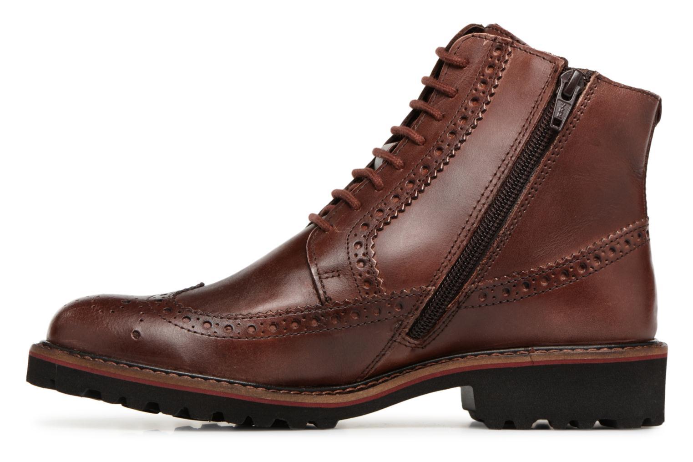 Boots en enkellaarsjes Kickers RUMBA Bruin voorkant