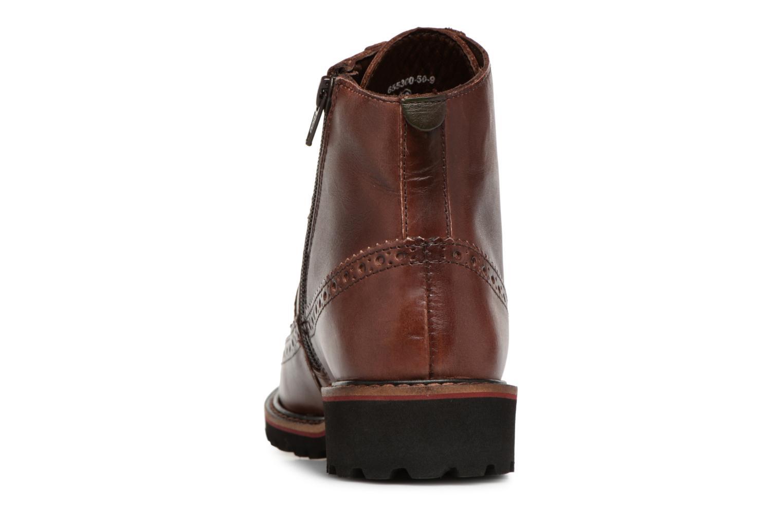 Boots en enkellaarsjes Kickers RUMBA Bruin rechts