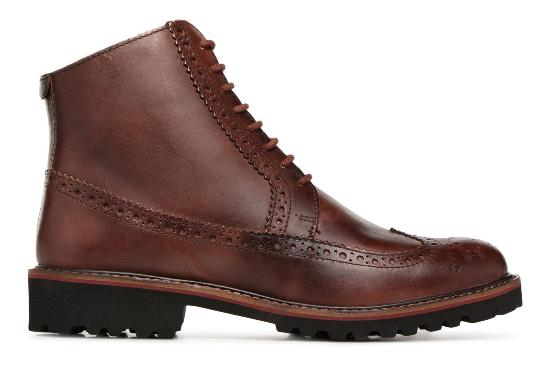 Boots en enkellaarsjes Kickers RUMBA Bruin achterkant