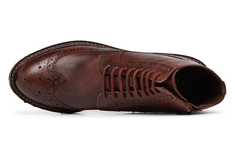 Boots en enkellaarsjes Kickers RUMBA Bruin links