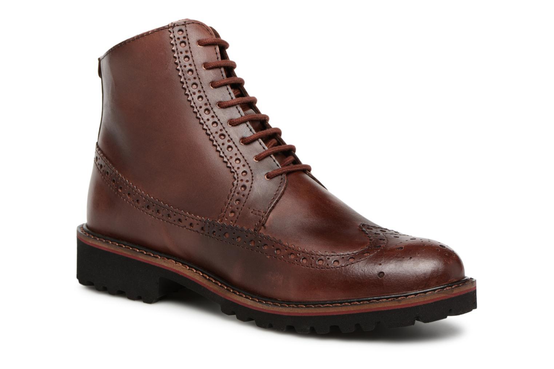Boots en enkellaarsjes Kickers RUMBA Bruin detail