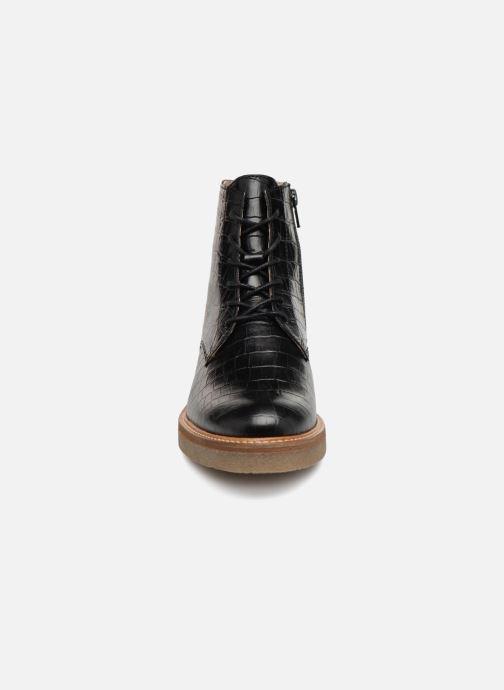 7110b90fd59c Kickers OXIGENO (Noir) - Bottines et boots chez Sarenza (341216)