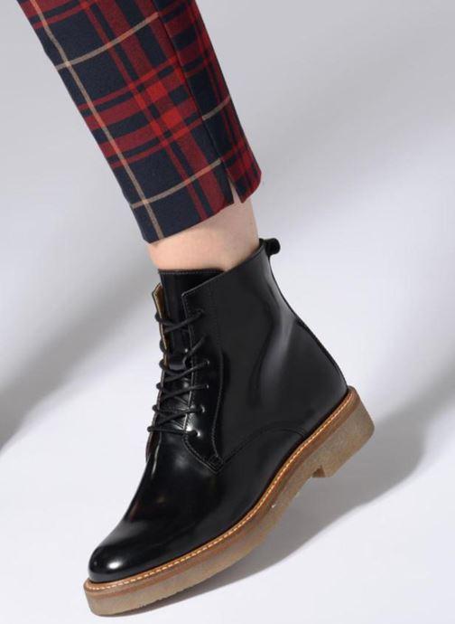 Bottines et boots Kickers OXIGENO Noir vue bas / vue portée sac