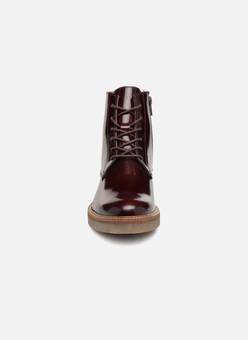 Bottines et boots Kickers OXIGENO Bordeaux vue portées chaussures