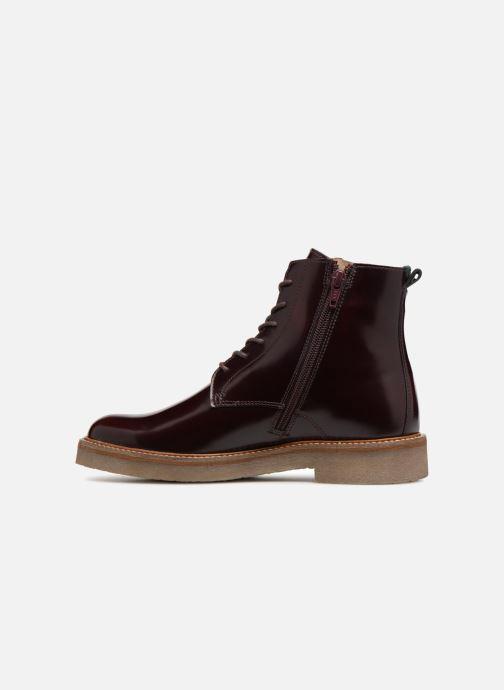 Bottines et boots Kickers OXIGENO Bordeaux vue face