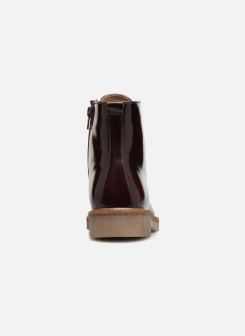 Bottines et boots Kickers OXIGENO Bordeaux vue droite