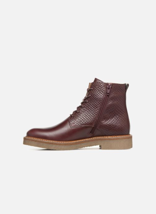 Bottines et boots Kickers OXIGENO Bordeaux vue face