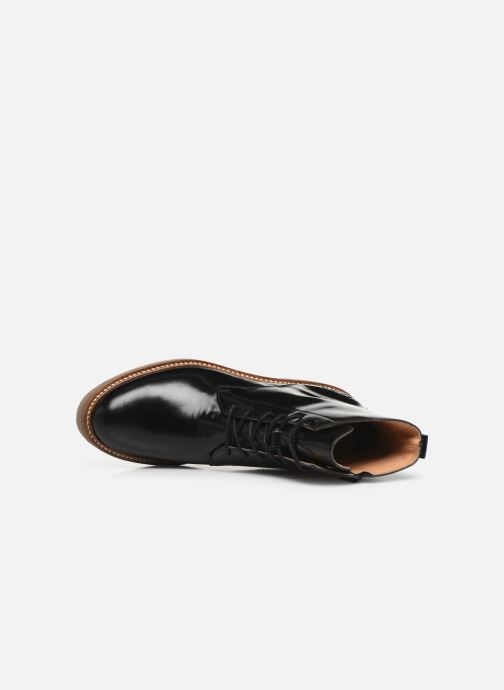 Boots en enkellaarsjes Kickers OXIGENO Zwart links