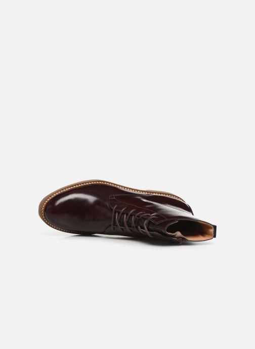 Bottines et boots Kickers OXIGENO Bordeaux vue gauche