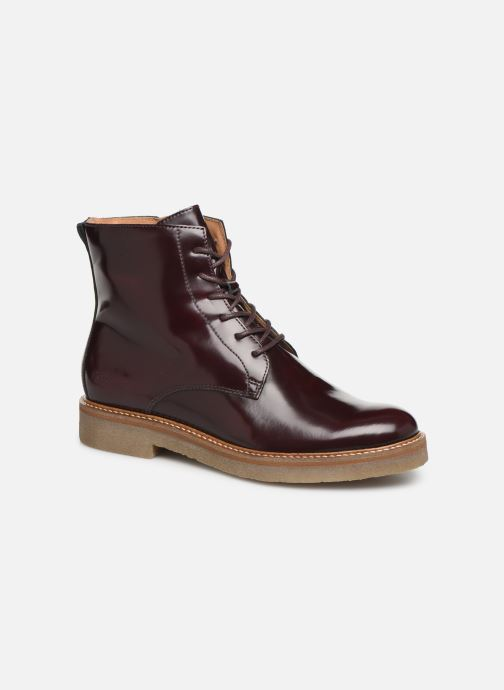 Bottines et boots Kickers OXIGENO Bordeaux vue détail/paire