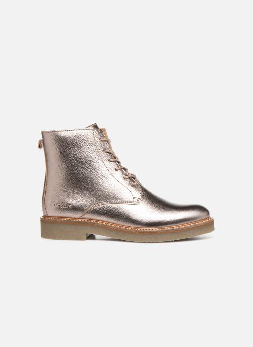Bottines et boots Kickers OXIGENO Or et bronze vue derrière