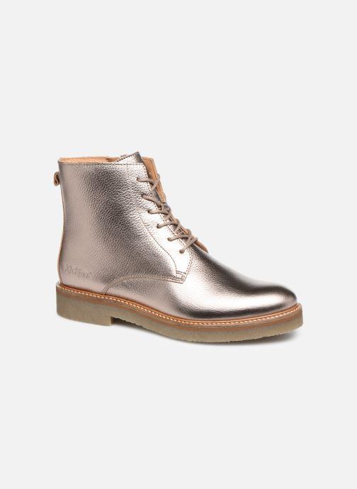 Bottines et boots Kickers OXIGENO Or et bronze vue détail/paire